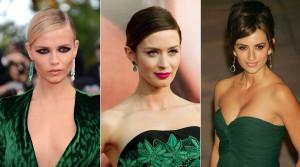Maquillaje-para-un-vestido-verde-de-fiesta-de-noche1